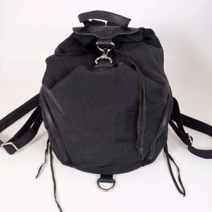 Rebecca Minkoff Backpack Purse Black Nylon Julian
